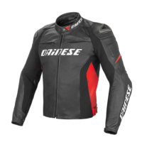 Dainese Racing D1 Pelle Kırmızı Ceket