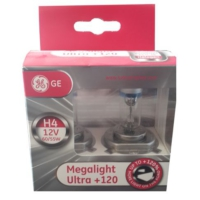 GE H4 Megalight Ultra 120 - Far Ampulu