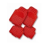 Nikelaj Paspas Kırmızı 5 Parça Kaymaz Çivili Taban