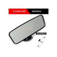 İç Dikiz Aynası İlave Vantuzlu 24cm