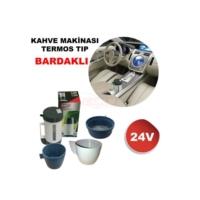 Kahve Makinesi 24V Termos Md TSE Lİ