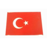 Kaydırmaz Pad Jel Yıkanabilir Bayrak Logolu 20 cm x 13 cm