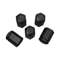 Opel için 5 adet Siyah Plastik Bijon Kapağı 6006066 32.80 mm* 17mm