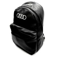 Simoni Racing Audi Logo ve Yazılı Deri Sırt ve Bagaj Çantası 106274
