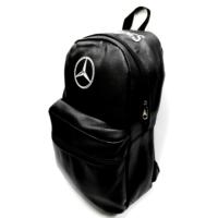 Simoni Racing Mercedes Logo ve Yazılı Deri Sırt ve Bagaj Çantası 106271