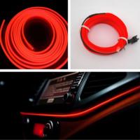 Flexible KIRMIZI Tube Neon Kablo 2 Metre 378816