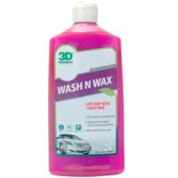 3D Wash N Wax- Cilalı Oto Şampuanı 500 Ml.201 Oz 16