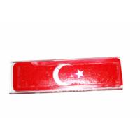 AutoCsi Türk Bayraklı Pratik HGS Kap Çok Amaçlı Kullanım