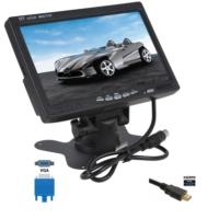 Audiomax 7 İnç Araç Lcd Monitör Hdmi Vga Girişli Kamera Uyumlu