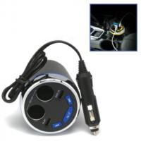 Earldom Bluetooth 4 2 Araç Bardaklığı Kiti M15 Fm Transmitter