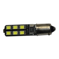 Starklips Ampul Dipsiz 5Led Power Can Bus Beyaz
