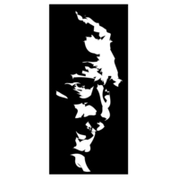 ModaCar 22 Cm Beyaz Atatürk Siluet Sticker 06a071