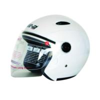Spyder Motosiklet Kaskı Yarım Camlı 601 Beyaz Medıum