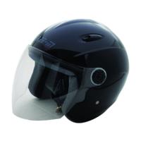Spyder Motosiklet Kaskı Yarım Camlı 601 Siyah Large