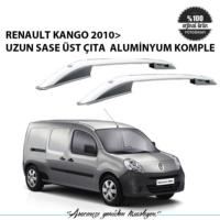 Renault Kango 2010> Uzun Sase Üst Çıta Aluminyum Komple