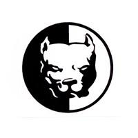Z tech Pit Bull Stickerı 6 x 6 cm