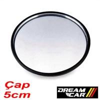 Dreamcar 5cm Yuvarlak Bombeli Ayna Yapışkanlı 2301501