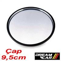 Dreamcar 9,5cm cm Yuvarlak Bombeli Ayna Yapışkanlı 2305001