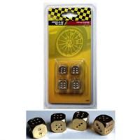 Dreamcar Altın Zar Sibop Kapağı 4'lü Set 8010104