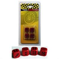 Dreamcar Kırmızı Zar Sibop Kapağı 4'lü Set 8010105
