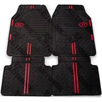F1 Spor Oto Paspas Seti Siyah Kırmızı