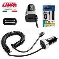 Lampa Micro Usb Hızlı Araç Şarjı+Extra Usb Port 2400Ma-5V 38928