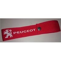 Peugeot Çıtçıtlı Tampon Çeki İpi Kırmızı 10 Lu