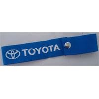 Toyota Çıtçıtlı Tampon Çeki İpi Mavi 10 Lu