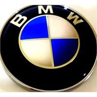 Bmw Karbon Logo 7.3 X 7.3 Gümüş Mavi