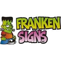 Franken Signs Sticker 10'Lu Paket