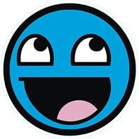 Mavi Smiley Sticker 10'Lu Paket