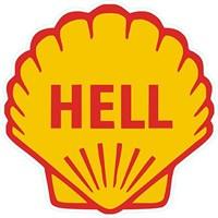 Hell Sticker 10'Lu Paket