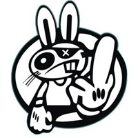 Tavşan Sticker 10'Lu Paket