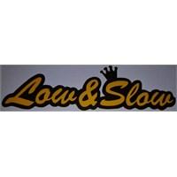 Low Slow Sticker 10'Lu Paket Sarı