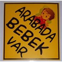Arabada Bebek Var Sticker 10'Lu Paket