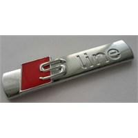 Metal Sline Bagaj Ve Çamurluk Logosu