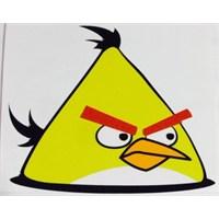 Sarı Angry Birds Sticker 10'Lu Paket