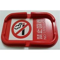 Topido Üstü No Smoking Reklamlı Kaydırmaz Ped