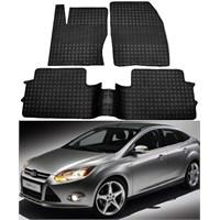 Modacar Ford Focus 2 Sedan Kasa 2011 >> Siyah Özel Paspas Seti 103970