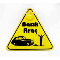 "Z tech "" BASIK ARAÇ "" Pleksi Sticker"