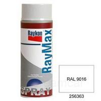 Raymax Parlak Trafik Beyazı (Ral 9016) Akrilik Sprey Boya 400 Ml. 04256363
