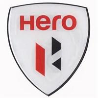 Tex 650 Xrace Hero Beyaz Damla Silikon Çıkartma