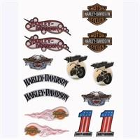 Tex Txhd 01 Xrace Harley Davidson Silikon Stiker Seti