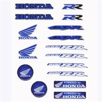 Tex Txhs 02 Xrace Honda Silikon Stiker Seti