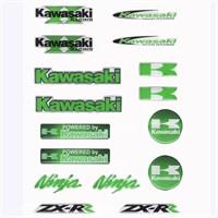 Tex Txks 01 Xrace Kawasaki Silikon Stiker Seti
