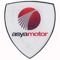 Tex 650 Xrace Asya Motor Beyaz Damla Silikon Çıkartma
