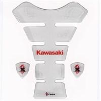 Tex Txk 03 Kawasaki Xrace Şeffaf Tank Pad