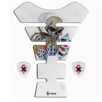 Tex Tx 02 Gambit Skull Xrace Tank Pad