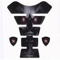 Tex Tx 06 Angry Skull Xrace Tank Pad