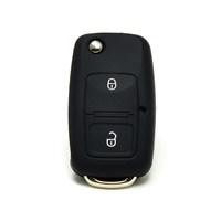 Gsk Volkswagen Bora Kumanda Kabı Koruyucu Kılıf 2 Tuş Siyah